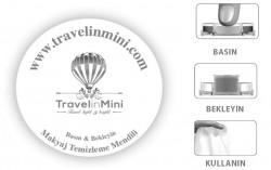 TRAVELINMINI DOĞAL MAKYAJ TEMİZLEME MENDİLİ - Thumbnail